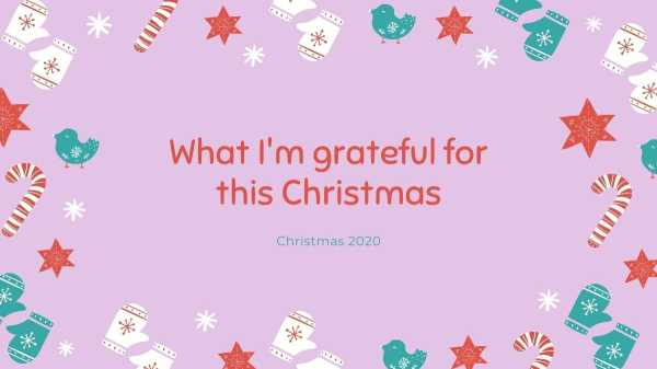 What I'm grateful for this Christmas