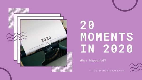 20 moments in 2020