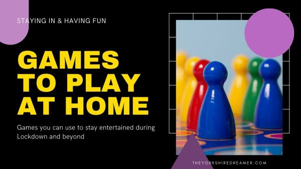 Games to play at home
