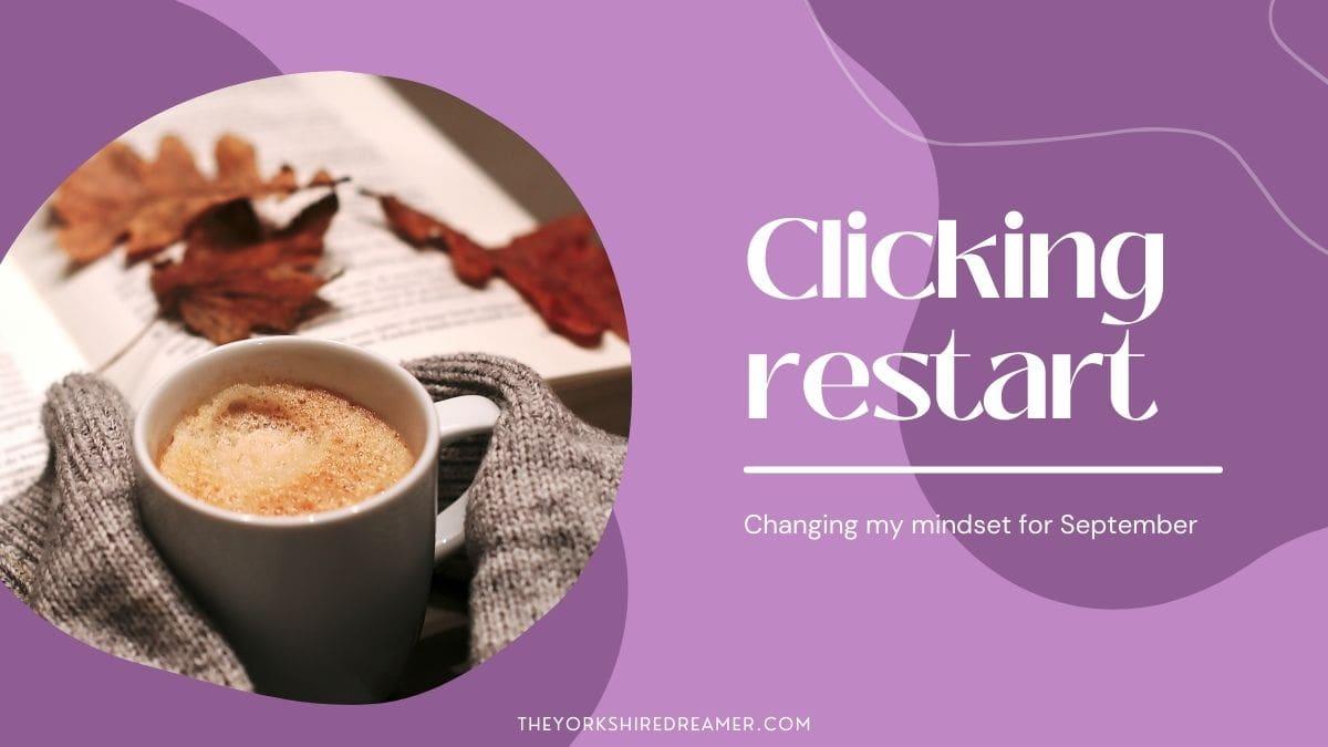 Clicking Restart